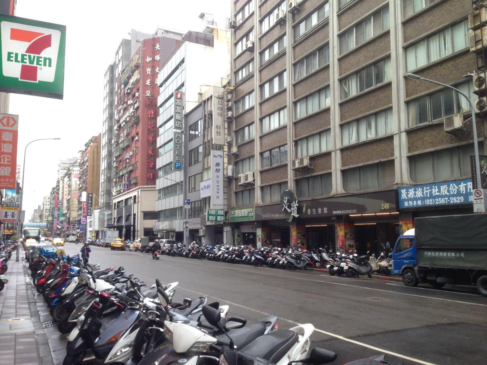 Taipei : le scooter est un moyen de locomotion très répandu